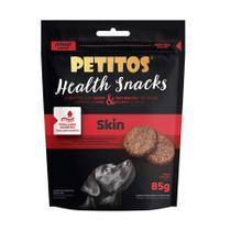 Snack Petitos Health Skin para Cães 85g -