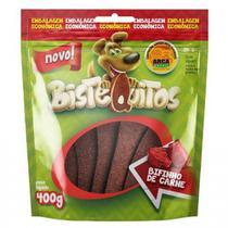 Snack Petitos Para Cães Bistequitos Sabor Carne - 400g -