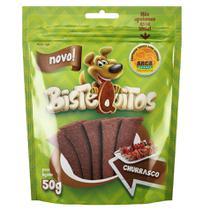 Snack Petitos Para Cães Bistequitos Sabor Churrasco - 50g -