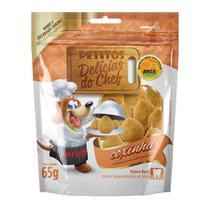 Snack Petitos Para Cães Chef Sabor Coxinha - 65g -