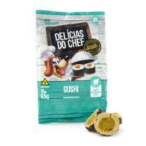 Snack Petitos Para Cães Chef Sabor Sushi - 65g -