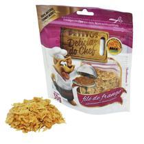 Snack Petitos Para Gatos Chef Sabor Filé de Frango - 30g -