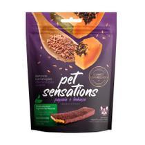 Snack Petitos Pet Sensations para Cães Sabor Papaia e Linhaça - 300g -
