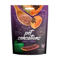 Snack Petitos Pet Sensations para Cães Sabor Papaia e Linhaça - 65g -