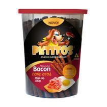 Snack Petitos Stick de Bacon com Ovos para Cães 350g -