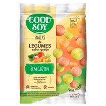 Snack Soja Goodsoy 25g-Pc Light Leg/Queijo - Good Soy