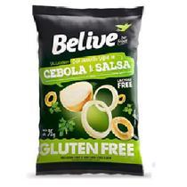 Snacks BeLive Sabor Cebola e Salsa 35g - Goodsoy
