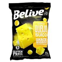 Snacks BeLive Sabor Queijo 35g - Goodsoy