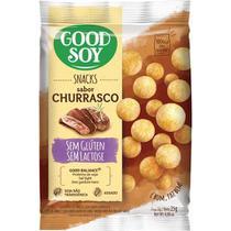 Snacks de Soja GoodSoy Sabor Churrasco 25g - Good Soy