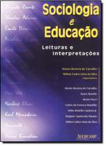 Sociologia e Educação: Leituras e Interpretações - Avercamp -