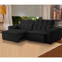 Sofá 4 Lugares Retrátil e Reclinável Alasca 230cm Pillow Veludo -  MegaSul -
