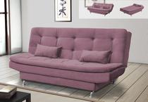 Sofá Cama Salomé Suede Rosê F 431- Matrix - Doce lar decorações