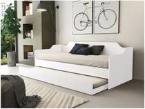 Sofá-cama Solteiro com Cama Auxiliar - Fênix Lotus