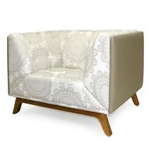 Sofa Dante base madeira - Domi