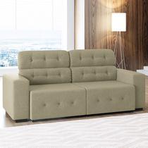 Sofá de 4 Lugares Blanc  Linoforte Moveis -