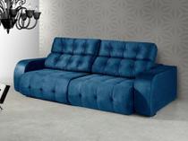Sofá Retrátil e Reclinável 4 Lugares Suede - Dover American Comfort