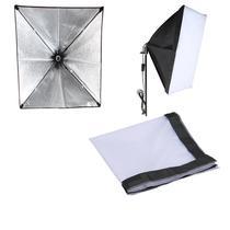 Softbox tipo Sombrinha para Iluminação Continua E27 - 60x60cm - Leadwin