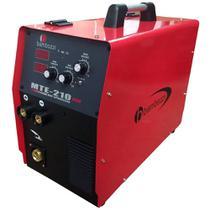 Solda Inversora Multiprocesso MTE-210 Plus Bivolt Bambozzi -