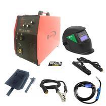 Solda Inversora Multiprocesso TIG Bambozzi MTE 210 Plus +masc -