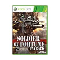 Soldier of Fortune Payback - Xbox 360 - Jogo