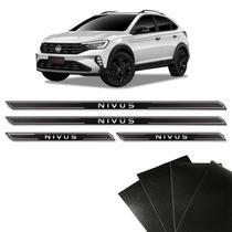 Soleira Diamante Nivus 2021 Volkswagen E Protetor De Porta - Sportinox