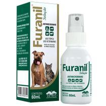 Solução Antimicrobiana Furanil Spray 60ml - Vetnil -