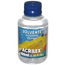 Solvente 100ml Acrilex -