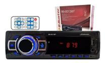 Som 1din Para Carro Bluetooth Usb Controle Chicote Garantia - Roadstar
