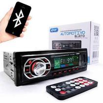 Som Auto Radio Carro Bluetooth Controle Mp3 Player Kp-c17bh - Knup