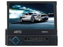 "Som Automotivo AR70 MM630 Retrátil LED 7"" - Touch Screen Entrada USB e Auxiliar"