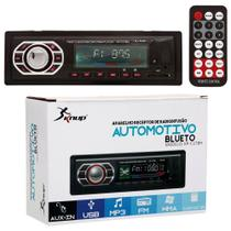 Som automotivo bluetooth auto radio som carro kp-c17br - Knup
