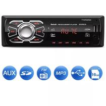 som automotivo bluetooth mp3 player First Option 6660bsc usb cartão de memoria Aux rca + controle
