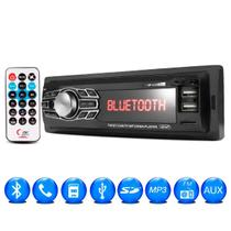 som automotivo c controle bluetooth aparelho mp3 player 2 Usb Sd auto radio Fm - Import Way