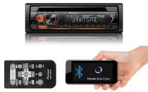 Som Automotivo CD Player Pioneer DEH-S4180BT Bluetooth Mixtrax Entrada Auxiliar e USB