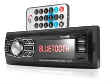 Som Automotivo Com Bluetooth MP3 Player FM USB Auxiliar - Knup