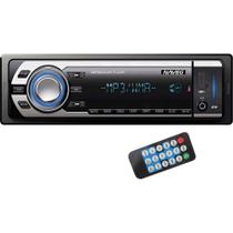 Som Automotivo com MP3 Player, Rádio FM, Entradas USB, SD e Auxiliar Naveg NVS-3066 - Delta max