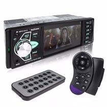 Som Automotivo Exbom PMCC-D41C - MP5 Player, Tela 4, Bluetooth, Rádio FM, USB e SD, Controle De Vo