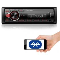 Som Automotivo Media Receiver Pioneer MVH-S218BT Com Bluetooth, Entrada USB, Entrada Auxiliar -