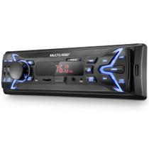 Som Automotivo Multilaser Pop Led 4X25W USB SD Auxiliar Preto - P3335