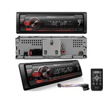 Som Automotivo MVH-S118UI Pioneer 1 DIN USB Spotify Arc Mixtrax -