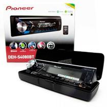 Som Automotivo Pioneer DEH-S4080BT, Preto, Bluetooth, Mixtrax, USB