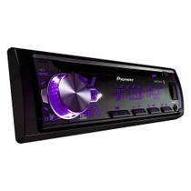 Som Automotivo Pioneer DEH-X50BR, Preto, Bluetooth, Mixtrax, USB