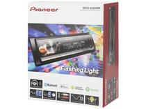 Som Automotivo Pioneer MP3 Player AM/FM - Bluetooth USB Auxiliar MVH-X300BR