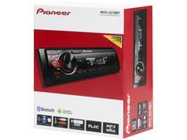 Som Automotivo Pioneer Mvh-s218bt Bluetooth - Mp3 Player Rádio Am/fm Usb Auxiliar - Pioner