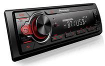 Som Automotivo Pioneer MVH-S218BT Bluetooth - MP3 Player Rádio AM/FM USB Auxiliar -