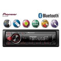 Som Automotivo Pioneer Mvh-S218bt Bluetooth Usb Aux -