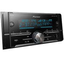 Som Automotivo Pioneer MVH-S618BT, 2 Din, Bluetooth, USB, RCA