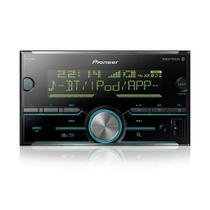 Som Automotivo Pioneer MVH-S618BT Preto  Bluetooth Entrada USB