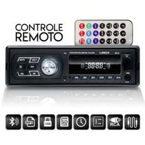 Som Automotivo Radio Bluetooth Mp3 Player Usb Aux Sd Fm Controle - Uberparts