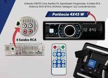 Som Automotivo Rádio Fm Mp3 Novo - Allcar